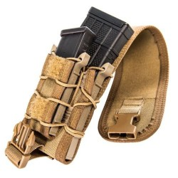 TACO Double Decker Coyote (MOLLE) - COVERED