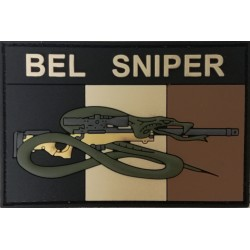 BEL SNIPER Patch subdued - Official (collector)