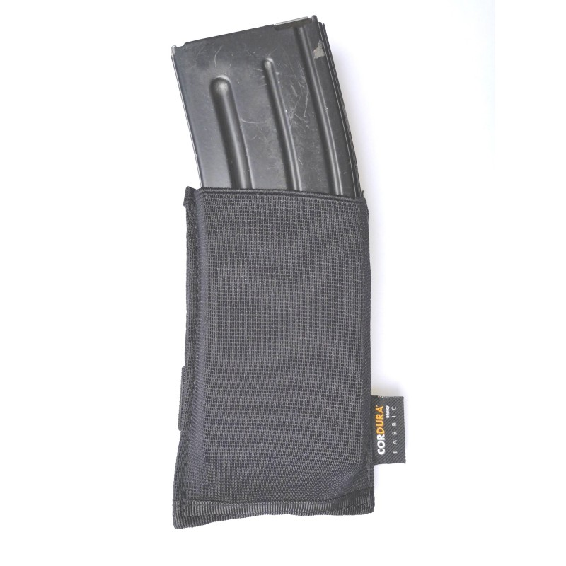 101 Inc Elasticated 5.56 mag pouch - MOLLE - Black