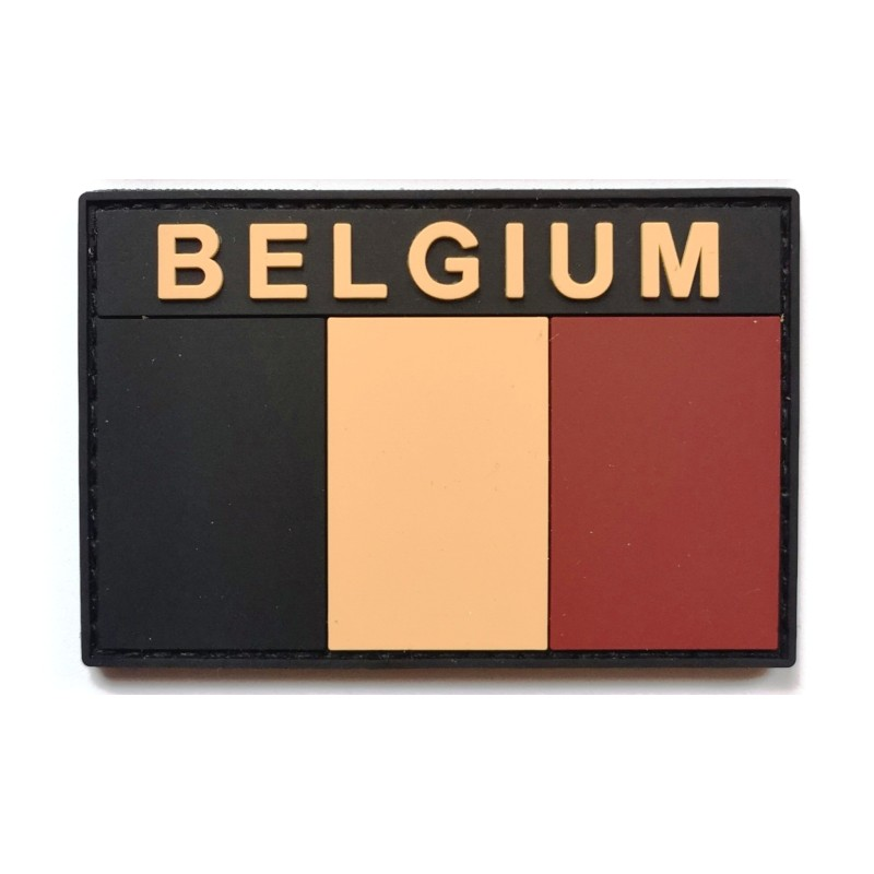 BELGIUM Patch Tactical